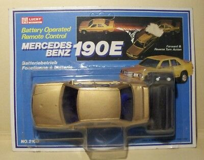 VINTAGE LUCKY TOY HONG KONG # 2109 - MERCEDES-BENZ 190E 1/24 - Mint Boxed