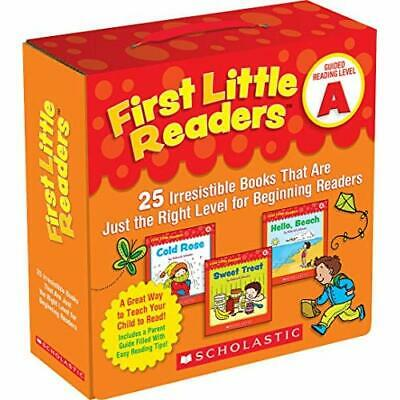 First Little Readers: Guided Reading Level A: 25 Irresi - Paperback NEW Schecter