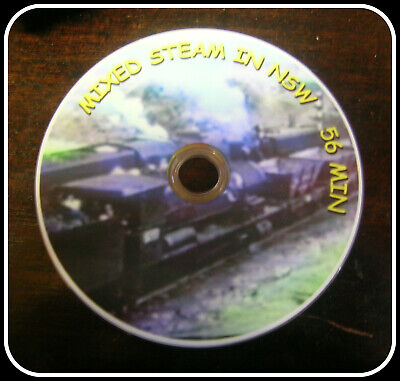Nswgr  Mixed Steam In Nsw Historical Dvd Freepost Australia Only