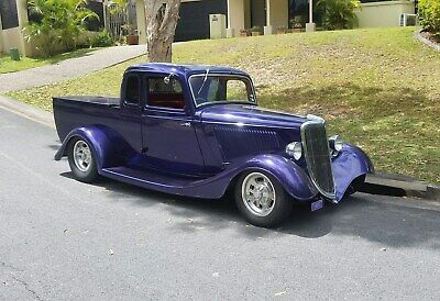 1934 Ford Coupe Ute Hot Rod (Very rare, First utes ever made)