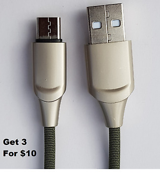 USB-C Type C Data&Charger Cable for Samsung Huawei Xiaomi Google