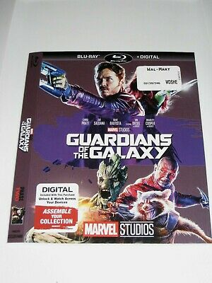 Guardians of the Galaxy (Blu Ray slip cover only) No Disc No Blu Ray