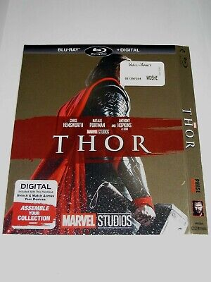Thor (Blu Ray slip cover only) No Disc No Blu Ray
