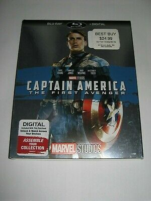Captain America The First Avenger (Blu Ray slip cover only) No Disc No Blu Ray