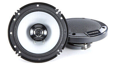"Kenwood KFC-1666S 6.5""  2-Way Coaxial Car Audio Speaker 300 Watts Peak"