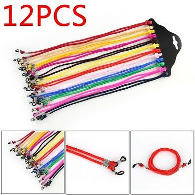 12X Glasses Neck Cord Strap String Lanyard Chain Sport Reading Spectacle Eyewear
