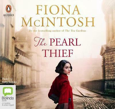 The Pearl Thief by Fiona McIntosh Compact Disc Book Free Shipping!