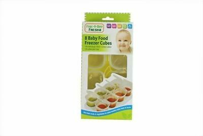 4 Baby Weaning Food Freezing Cubes Tray Pots Freezer Storage Containers BPA Free