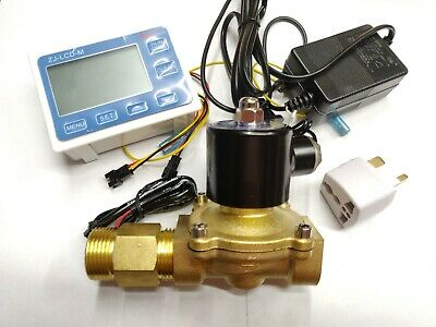 "G1"" Digital Flow Meter Sensor for Water Milk Wine Flowmeter"