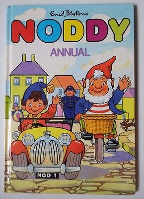 Noddy Annual 1989 Enid Blyton Not Price Clipped No Loose Pages Or Scribble