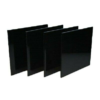 Black Colour Perspex Acrylic Cut To Size Plastic Panel Sheet, CUT TO SIZE