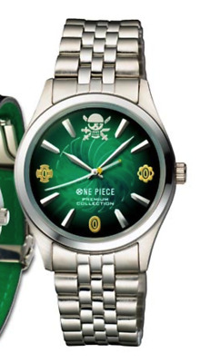 One Piece Roronoa Zoro Memory of the swordsman Official Metal Type Size L