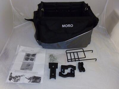 Moro bicycle pet carrier complete with fixings and instructions