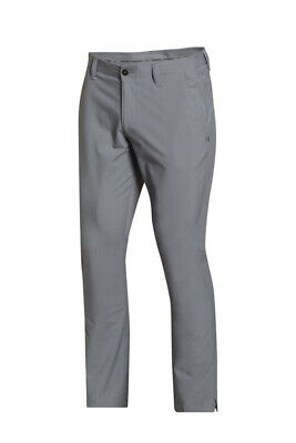 "Under Armour UA Matchplay Taper Trouser Stretch RRP £54.99 - Steel Grey 30"" Leg"