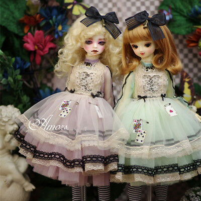 【Tii】Alice 2 colors outfit BJD 1/4 1/3 MSD SD10/13 DD GR DZ Doll Clothes dress