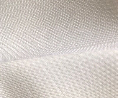 Antique White Dublin 25 Count Zweigart linen even weave fabric -  size options