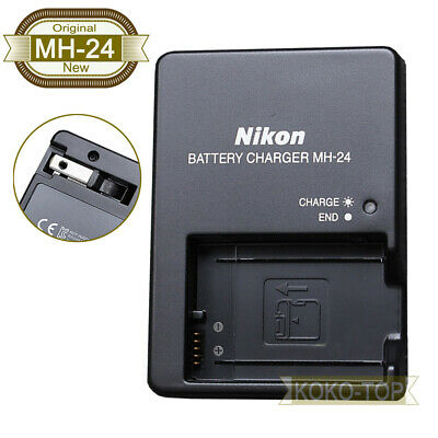 Genuine Original Nikon MH-24 Charger for D5300 D5200 D5100 D3100 D3200 D3300