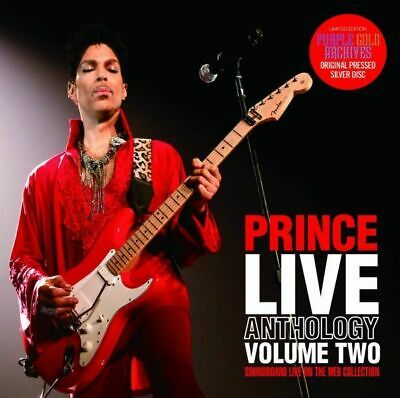 Prince Live Anthology Volume Two Soundboard Live On The Web Collection 2Cd F/S