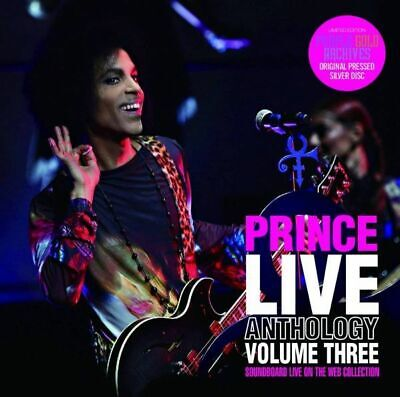 Prince Live Anthology Volume Three Soundboard Live On The Web Collection 2Cd F/S