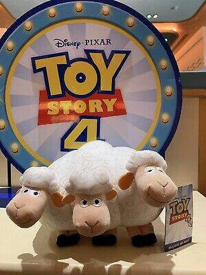 Disney Pixar, Toy Story 4, Bo Peeps Sheep, Billy, Goat And Gruff Plush Brand New