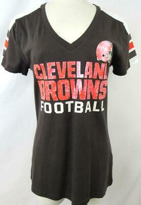 huge selection of 99250 7c0b5 CLEVELAND BROWNS ELF Logo NFL Womens Shirt Size XXL Dicks ...