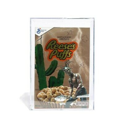 Travis Scott X Reese's Puffs Astroworld Cactus Jack Set *Cereal + Bowl + Spoon