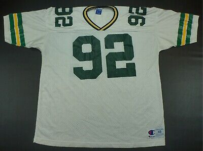 353c0a4f VTG GREEN BAY Packers Reggie White 90s Champion Jersey Sz 48 Large ...