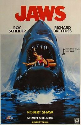 """Jaws - Large Movie Poster - 24""""x36"""""""