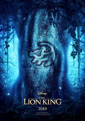 """The Lion King 2019 Teaser - Simba Drawing - Large Movie Poster - 24""""x36"""""""