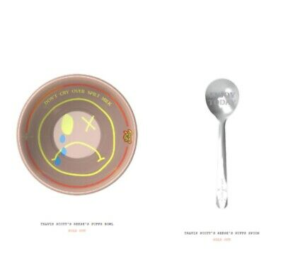 Travis Scott Reese's Puff Bowl And Spoon Set Confirmed Order Cactus Jack