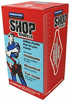 Scott Products in-A-Box Shop Towel, Blue