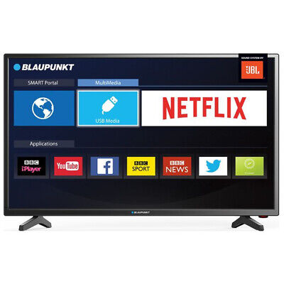 "Blaupunkt BLA-32/138M 32"" Inch Smart HD LED TV with Freeview HD and JBL Speakers"