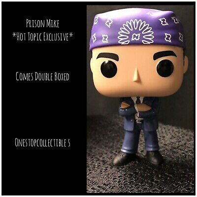 Funko Pop Prison Mike *Hot Topic Exclusive* The Office Preorder Double Boxed