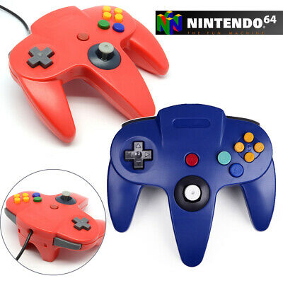 WIRED N64 CONTROLLER Joystick Gamepad USB for Nintendo 64 Console