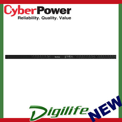 CyberPower PDU41404 Switched ePDU 16Amp Input/Output SNMP Network