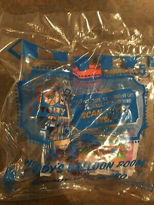McDonalds Toy Story 4 #5 Woody's Balloon Room 2019 Happy Meal, New, Unopened