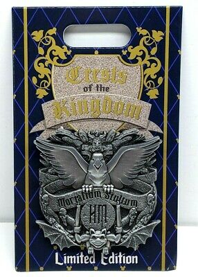 Disney Parks Crests Of The Kingdom Pin Haunted Mansion LE 2000