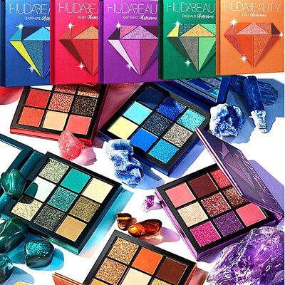 2019 HUDA Beauty Paleta de sombras de ojos Beauty Edición limitada 9 Color