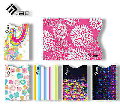 Safe RFID Blocking 5 ID/Credit Card Space & 1 Passport Sleeves Holders Scan Gift
