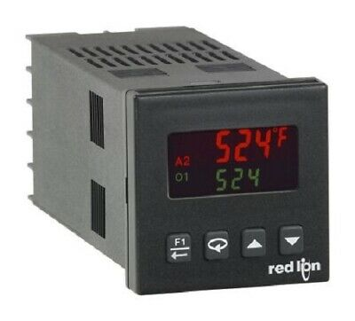 Red Lion T1621110 T16 Panel Mount PID Temperature Controller 49.5 x 49.5mm - New