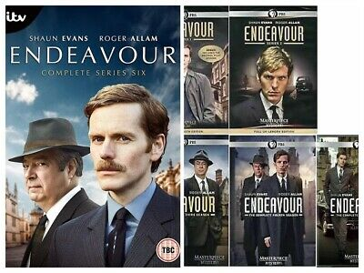 Endeavour Season 1-6 TV Series DVD Box Set Complete Collection DVD 1,2,3,4,5,6