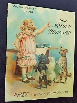 Old AD Premium Children's Nursery Book Malena Warriorsmark PA Old Mother Hubbard