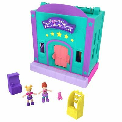 Polly Pocket Pollyville Game Room Mattel GFP41 Dolls Playset from 4 Years
