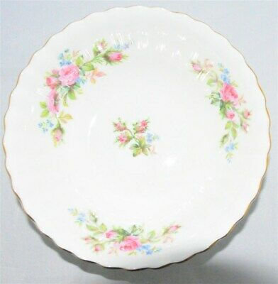 1-Royal Albert Moss Rose Soup Cereal Bowl England ( 3 Available )
