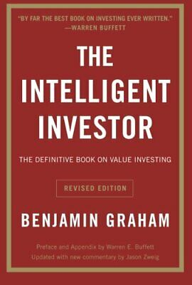 The Intelligent Investor: The Definitive Book on Value Investing, Paperback