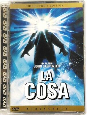 Dvd La Cosa - Collector's ed. Super Jewel Box di John Carpenter 1982 Usato
