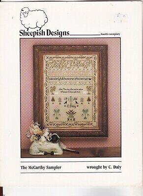 point de croix Sheepish Designs ABC ancien N°4