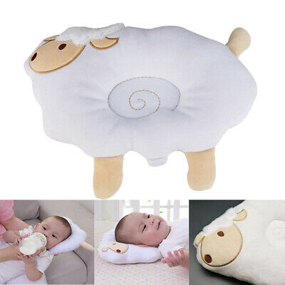 Organic Cotton Baby Protective Pillow Newborn Cushion Protection for Head Suppor