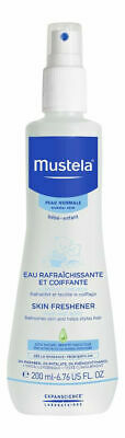 Mustela Skin Freshener & Helps Style Hair from Birth on 6.76oz NEW FREE SHIP f4
