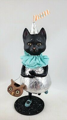 Ms Kitty Candy Kisses Black Cat Halloween Decor Bethany Lowe New